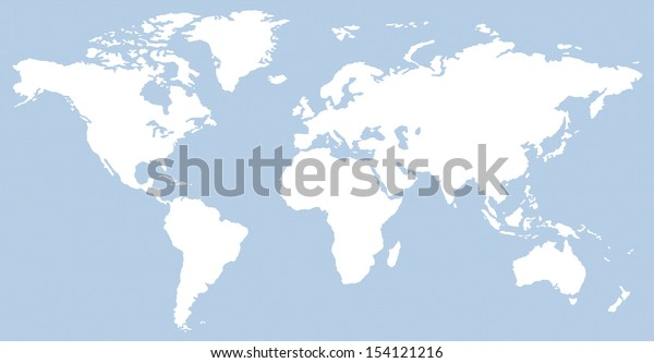 blue horizontal waves pattern contemporary world map