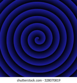 Blue Hypnotic  Background for text or advertising