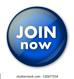 Blue Join now isolated button