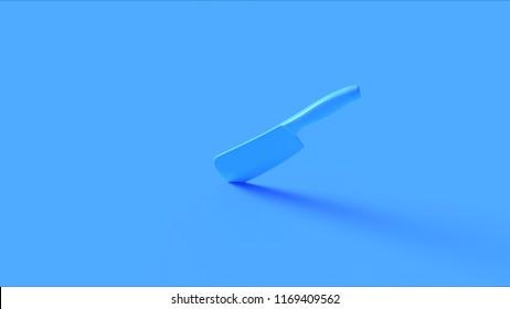 Blue Knife 3d illustration 3d rendering