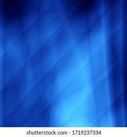 Blue light shape technology pattern abstract background