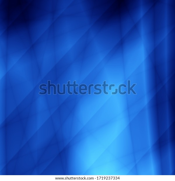Blue light shape technology pattern abstract background