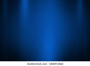Blue metal abstract background or texture