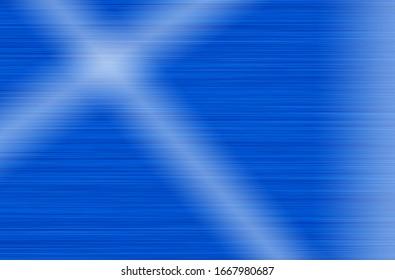 Blue metal stainless steel texture