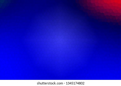 Blue mosaic with red and green Abstract background texture