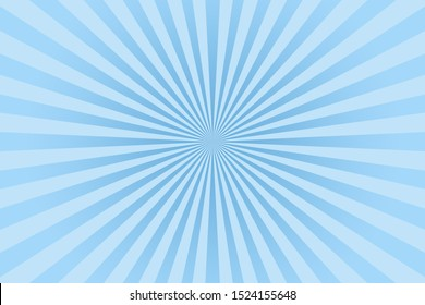Blue pastel color rays abstract background, can use for test the resolution and focus of cameras and photo or cinema lens.