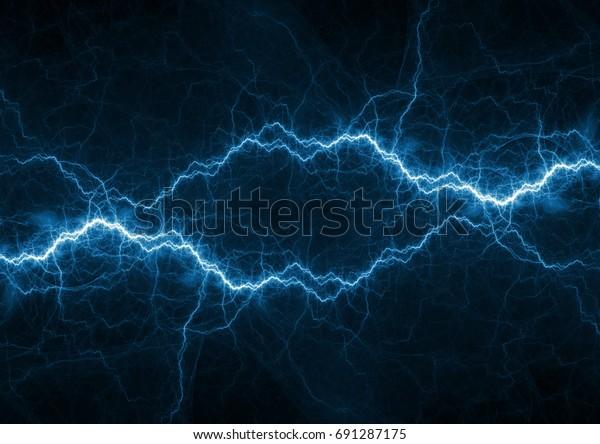 Blaues Plasma, Strom- und Energiehintergrund