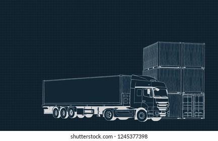 Blue Print Logistics Company Background