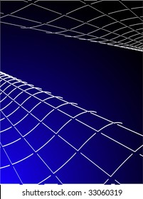 the blue raster abstract background (vector version in portfolio)