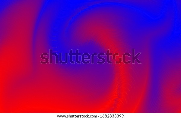 Blue and red colours in kaleidoscopic pattern, wallpaper and background patterns.