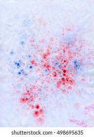 Blue and red marble paper texture, abstract background: biology. Perfect for invitation cards, business cards etc.