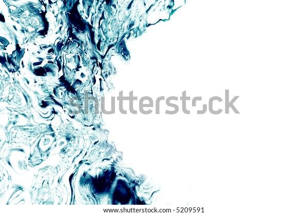 blue rough metal background
