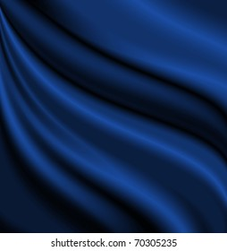 blue satin background