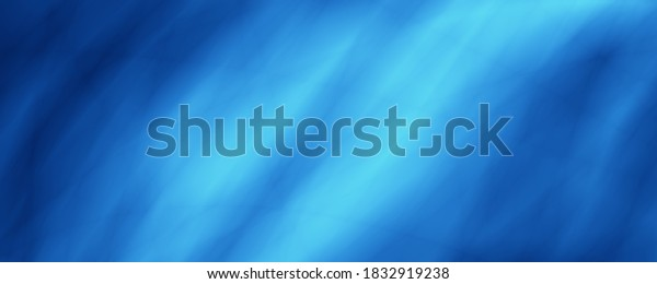 Blue sea wave art illustration abstract background
