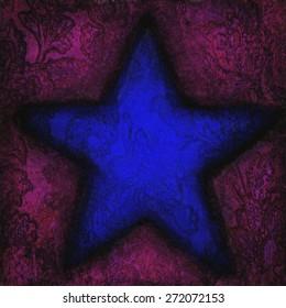 Star background texture grunge.