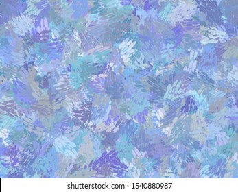 BLUE theme watercolor paint fabric wool fur pattern, Feather texture carpet design luxury abstract for use as a background or paper element scrapbook. creative by using photoshop brush.