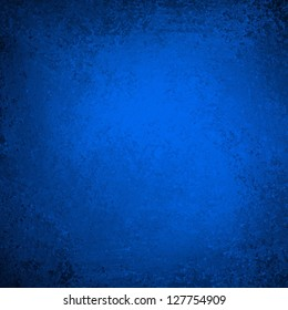 blue vintage background black border edges with bright corner spotlight, vintage grunge background texture layout, abstract gradient background, luxury black blue paper or wall paint for brochure ad