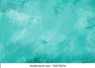 Blue watercolor background. Digital painting.