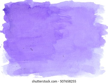 Blue watercolor background, luscious palette. Abstract canvas with paper texture.