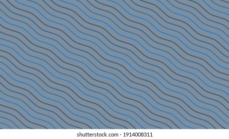 Blue Wave Pattern Background, Blue Wave abstract background
