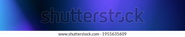 Blue widescreen header art illustration background