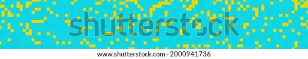 Blue yellow website header art widescreen background