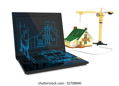 Blueprint and construction