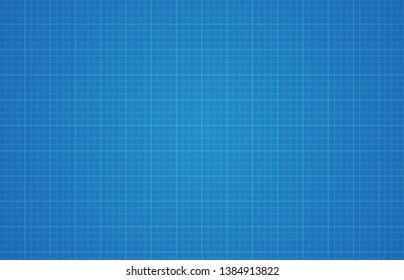 Blueprint pattern digital paper background.