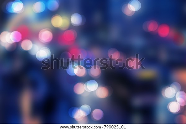 Blur Bokeh Bokeh Light Bokeh Color Stock Illustration 790025101