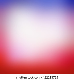 blurred background with smooth texture and bright colors of red white and blue