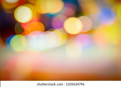 Blurred city lights. Abstract texture background for your design. Bokeh background.