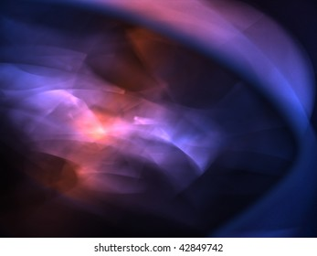 Blurred colorful shapes background