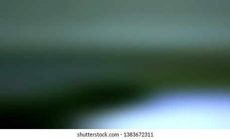 Blurred gradient background with Arsenic Dark Green, White color. Template for advertising and commercials.