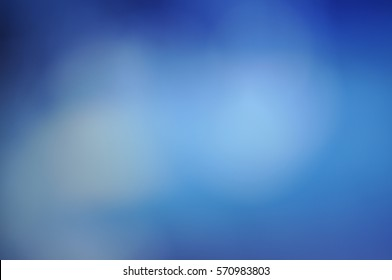 фотообои Blurred soft light blue solid background with a smooth gradient Wallpaper brochure banner