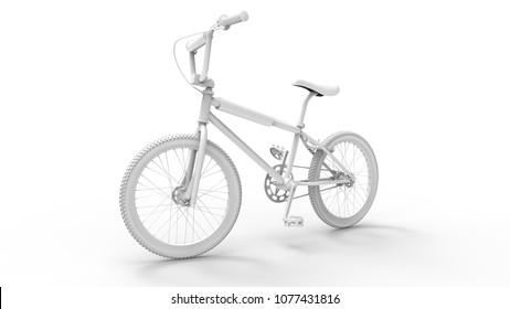 BMX Bike - 3D rendering