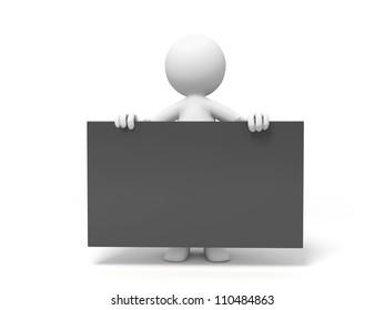Board/a people is holding a board