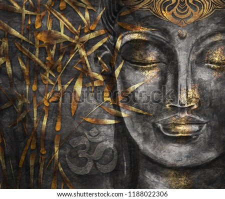 Bodhisattva Buddha digital art