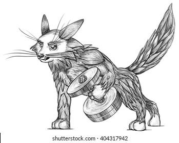 Bodybuilder Cat