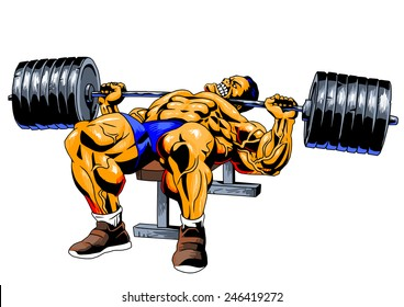 Bodybuilding Drawing Images Stock Photos Amp Vectors