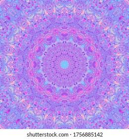Boho Ornate Funky Mandala Art
