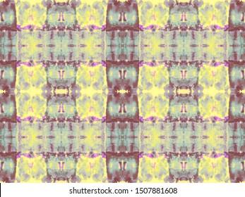 Boho Stripe Tile. Brown Effect Pattern. Shibori Pattern. Tie Dye Texture. Caramel Tie Dye Stripes. Seamless Tribal Boho Pattern. Terracota Background Pattern. Tobacco Batik Ikat Geo.