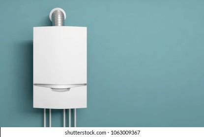 boiler gas heater water 3D illustration
