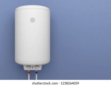 boiler water heater electric tank 3D illustration