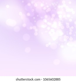 Bokeh background, abstract pink bokeh background