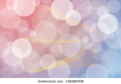 Bokeh background design with abstract linear details for technological, medical, and modern background design and layouts. Useful for web. High Resolution.