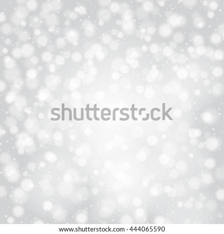 new year wallpapers glowing lights silver background with blur abstract defocused