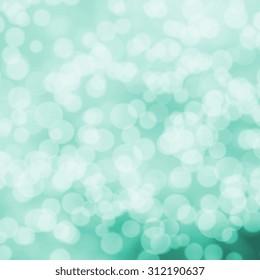 bokeh lights - subtle green background