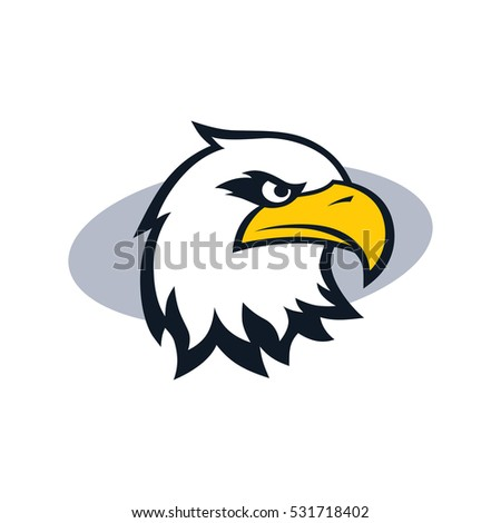 Bird Template | Royalty Free Stock Illustration Of Bold Eagle Bird Template Logo