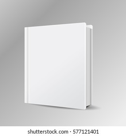 book blank cover  mock isolated