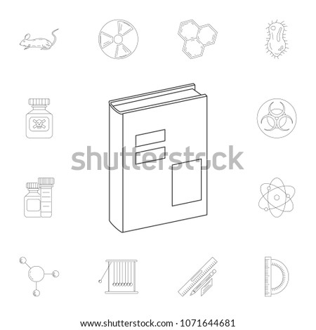 Book Icon Detailed Set Science Lab Stock Illustration 48 Mesmerizing Science Lab Furniture Collection